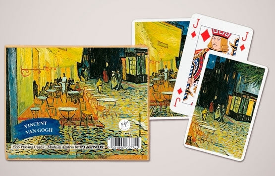 Double Deck Decorative Playing Cards - Van Gogh Cafe Terrace at Night