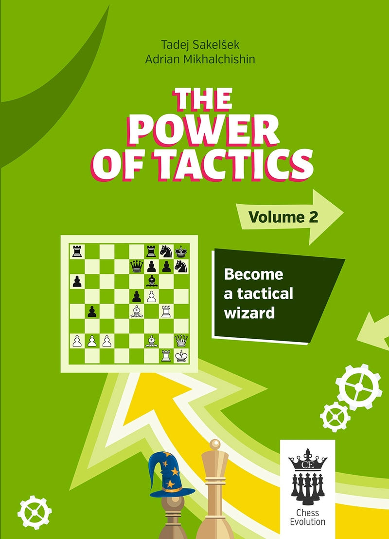 The Power of Tactics Volume 2 - Sakelsek & Mikhalchishin