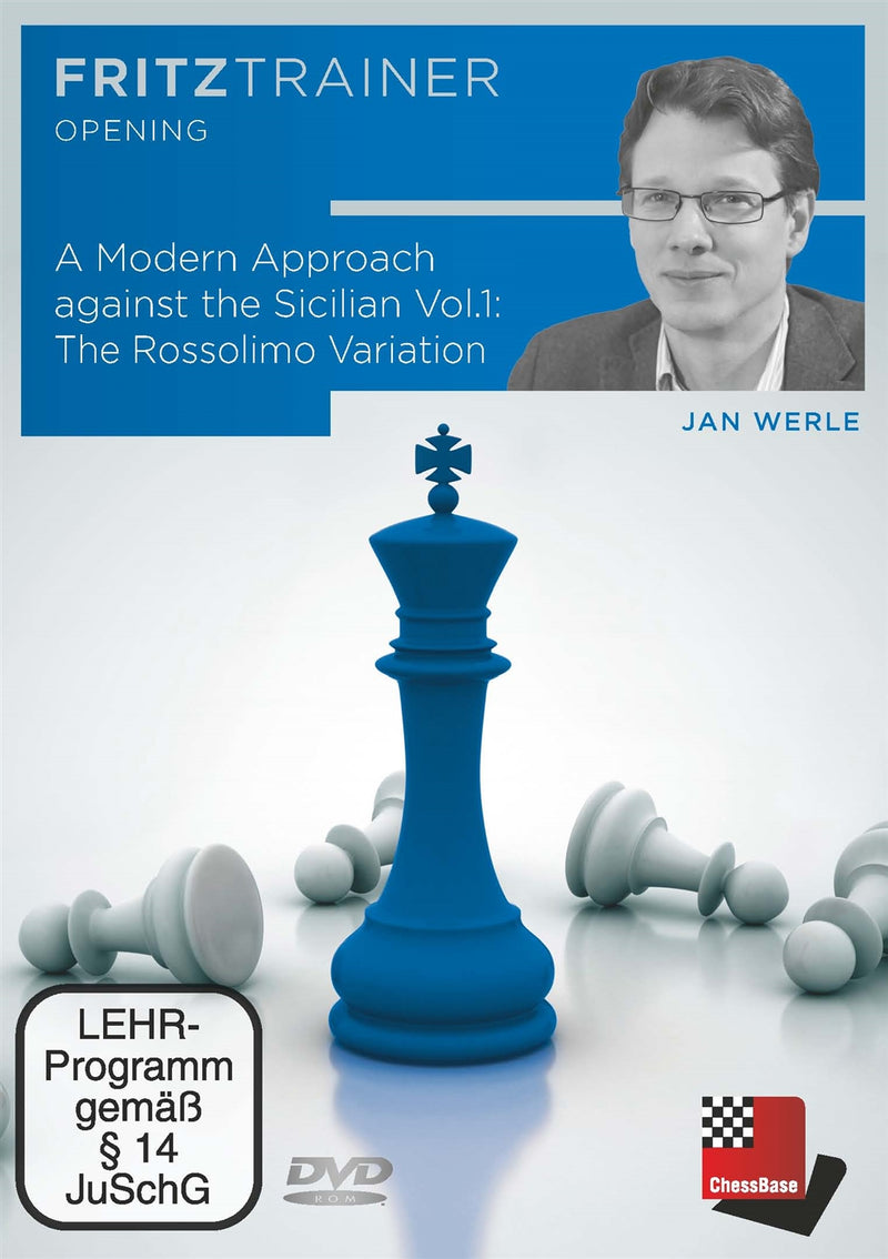 A Modern Approach against the Sicilian Vol 1: The Rossolimo Variation - Jan Werle (PC-DVD)