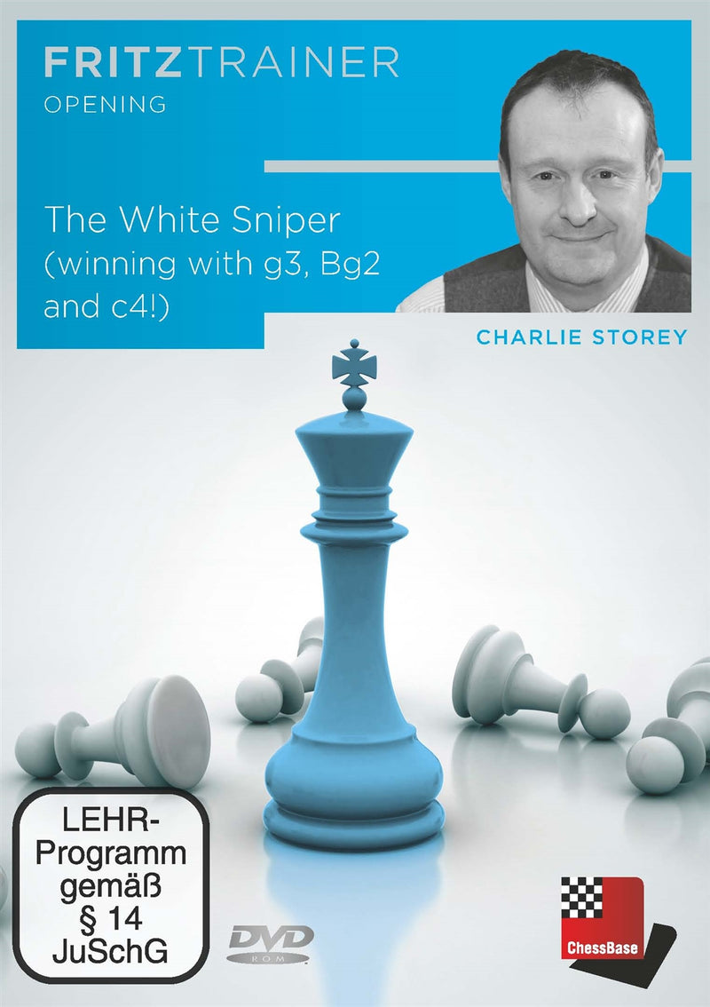 The White Sniper (winning with g3, Bg2 and c4!) - Charlie Storey (PC-DVD)