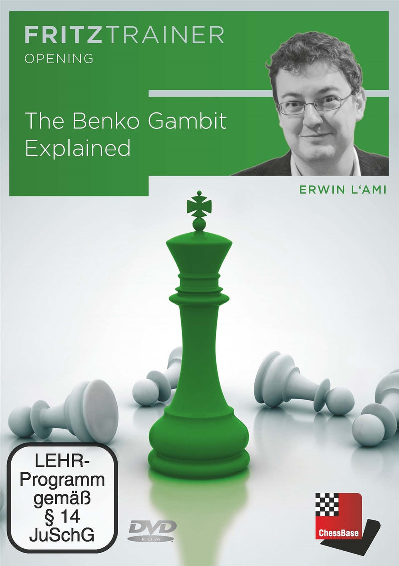 The Benko Gambit Explained - Erwin l'Ami (PC-DVD)