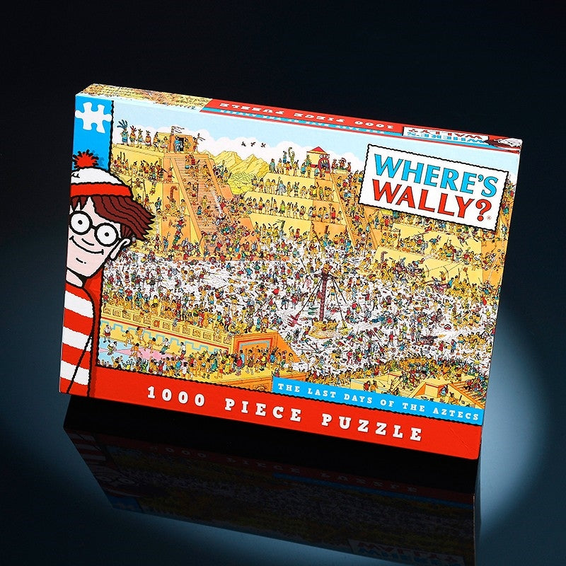 Where's Wally The Last Day of The Aztecs 1000 piece puzzle