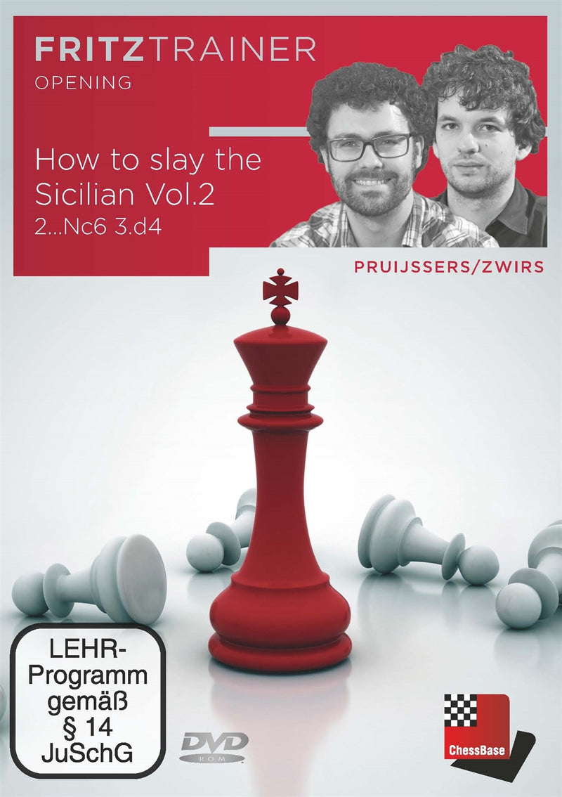 How to slay the Sicilian Volume 2: 2...Nc6 3.d4 - Pruijssers & Zwirs (PC-DVD)