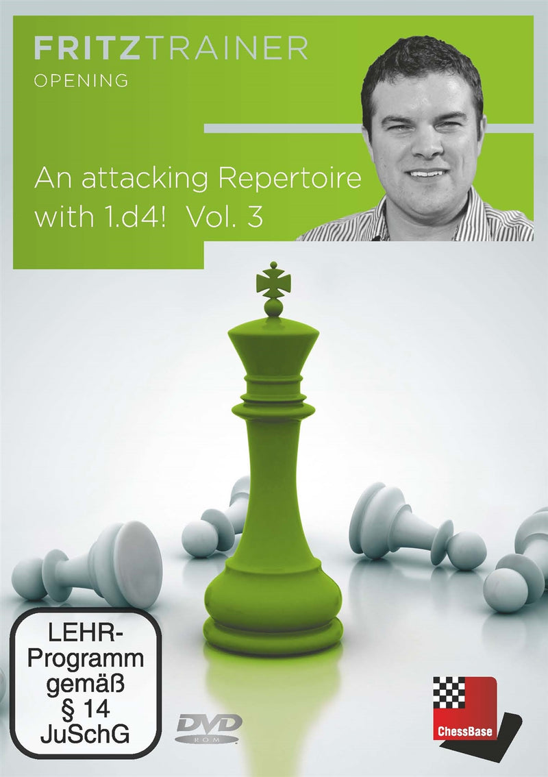 An attacking Repertoire with 1.d4 Part 3 (King's Indian, Grunfeld and Sidelines) - Nicholas Pert (PC-DVD)