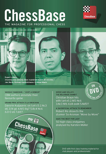 Chessbase Magazine #201 - May/June 2021 (PC-DVD)