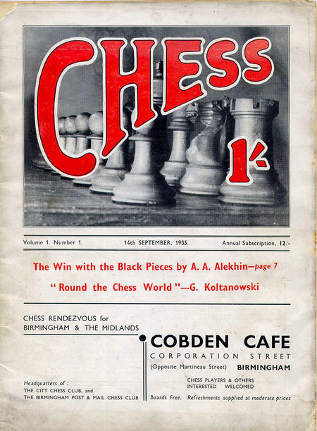 CHESS Magazine - Issue 1 [DOWNLOAD]