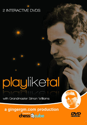 Play Like Tal - GM Simon Williams (DVD)