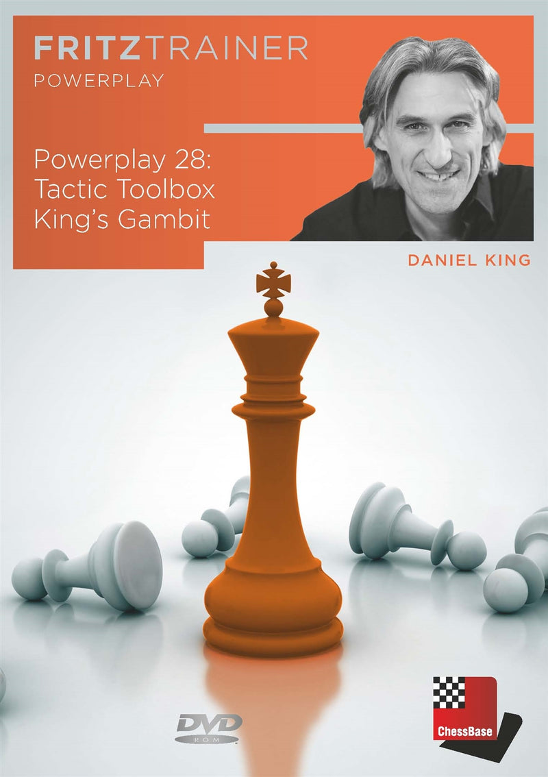 Power Play 28: Tactic Toolbox King's Gambit - Daniel King (PC-DVD)
