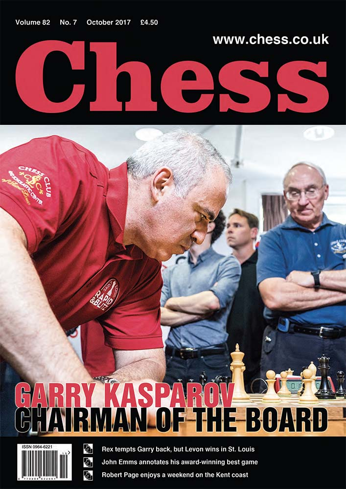 CHESS Magazine - October 2017