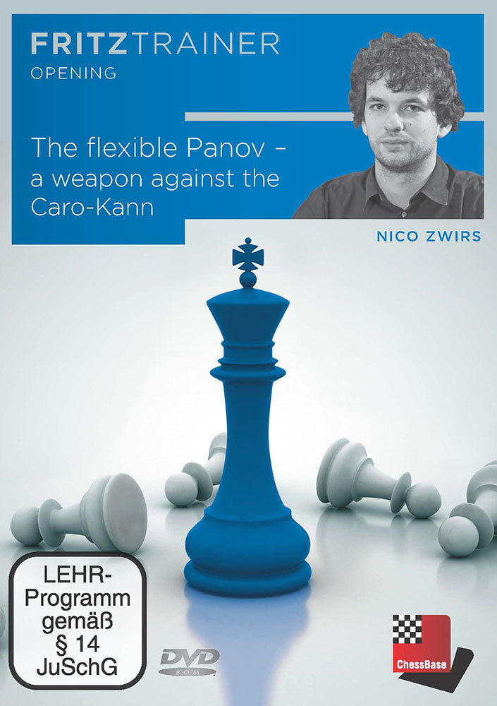 The Flexible Panov: A Weapon Against the Caro-Kann - Nico Zwirs (PC-DVD)