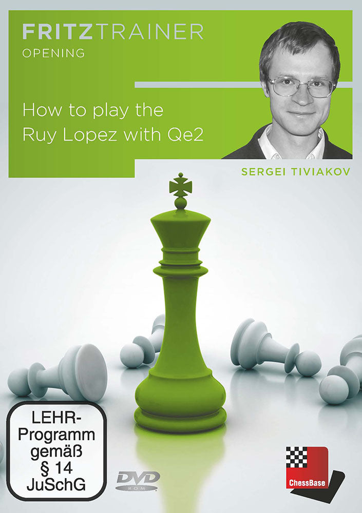 How to play the Ruy Lopez with Qe2 - Sergei Tiviakov (PC-DVD)