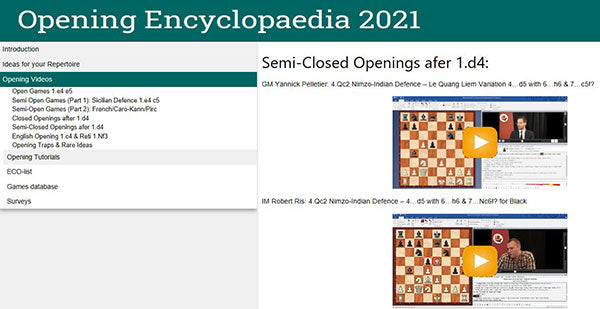 Opening Encyclopaedia 2021: Update from 2020 [serial required]