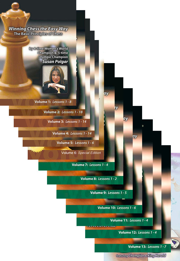 Susan Polgar Complete DVD Collection
