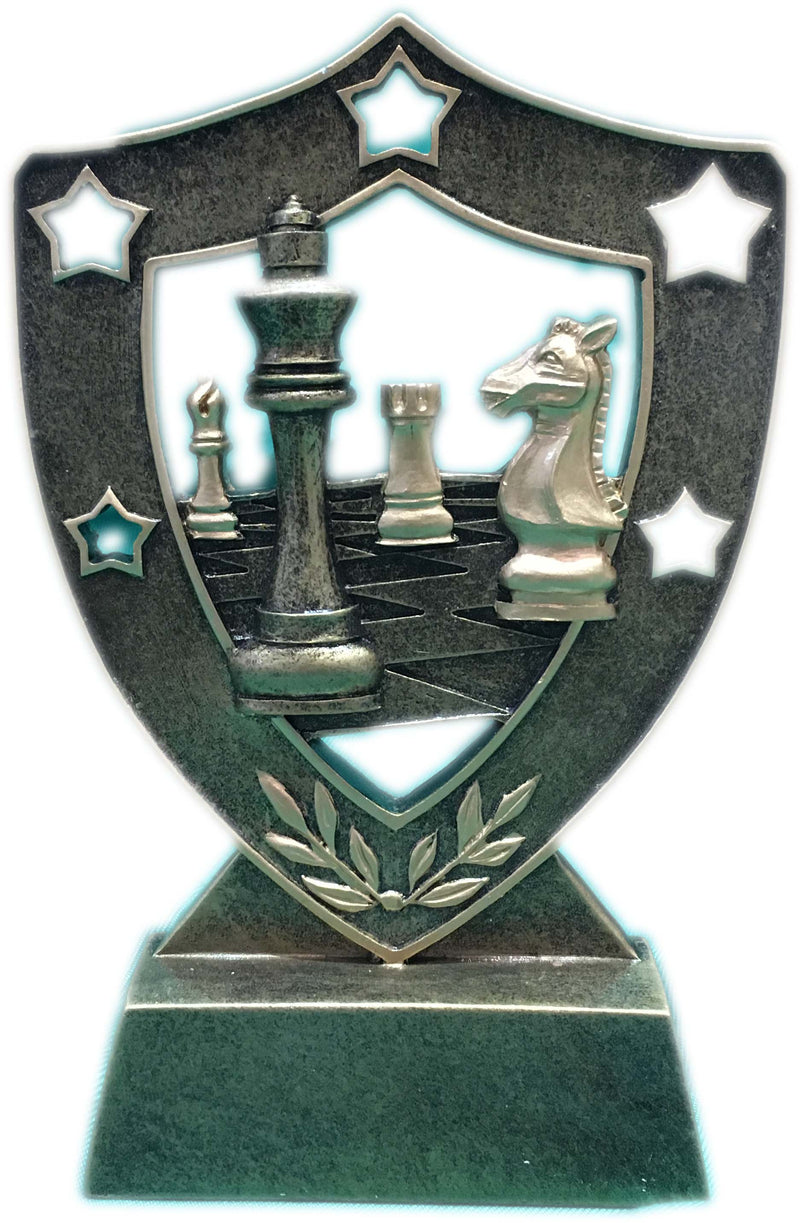 Shield Chess Trophy (15cm)