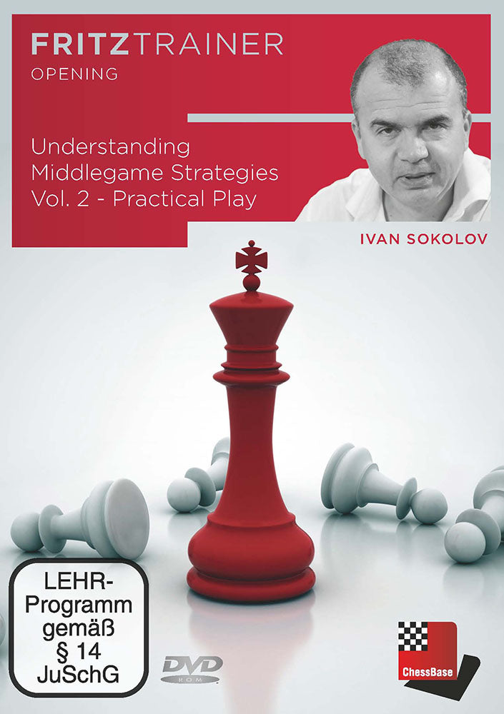 Understanding Middlegame Strategies Vol.2: Practical Play - Ivan Sokolov (PC-DVD)