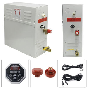 Wella STEAM GENERATOR HOME SPA SHOWER SAUNA BATH DIGITAL CONTROLLER 3KW 220-240V