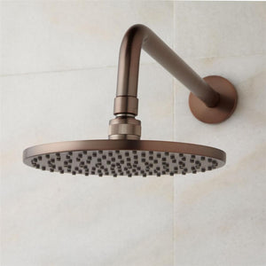 Perlude Oil Rubbed Bronze - Round Shower Head Shower System with 6 Body Shower Jets