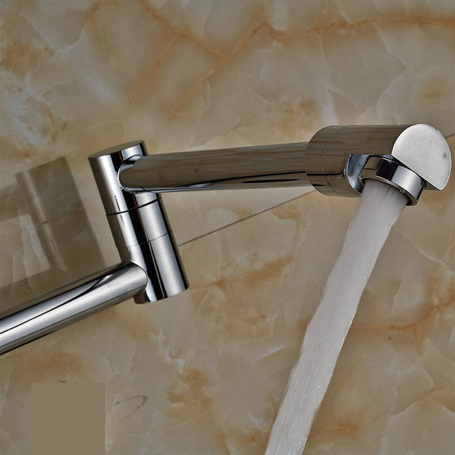 Havana Wall Mounted Folding Kitchen Sink Faucet