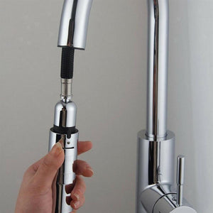 Luxury ABS Technology Pull Out Kitchen Faucet Replacement