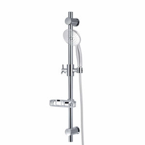 PULSE ShowerSpas Chrome Adjustable Slide Bar ShowerSpa Shower Panel Accessory