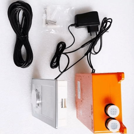 Ajaccio LED Shower Ceiling Mounted Digital Display Sensor Control Thermostat Kit