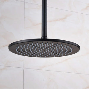 "Fontana 16"" Oil Rubbed Bronze Round LED Rainfall Showerhead"