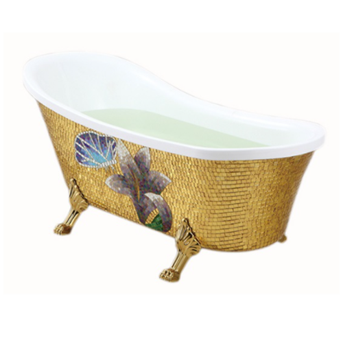 Fontana Sierra Freestanding Indoor Acrylic Bathtub