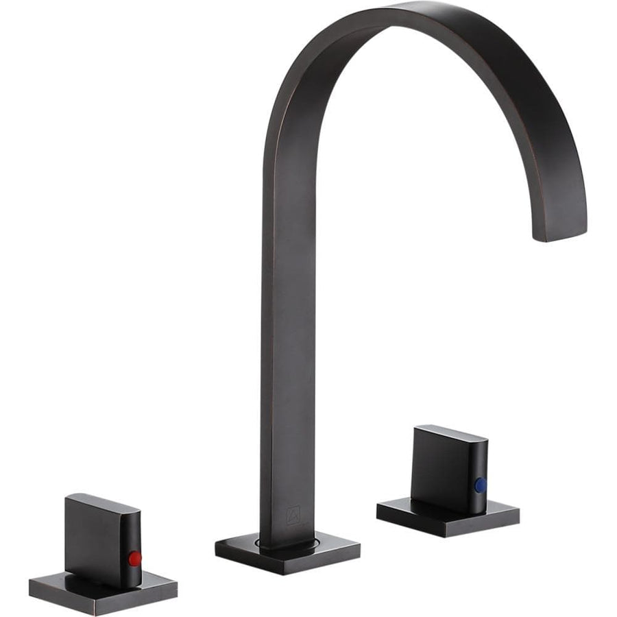 Sabre 8 in. Widespread 2-Handle Bathroom Faucet in Oil Rubbed Bronze