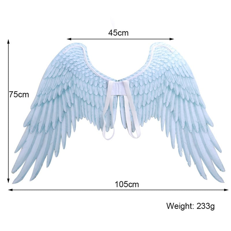 Halloween 3D Angel Wings Mardi Gras Theme Party Cosplay