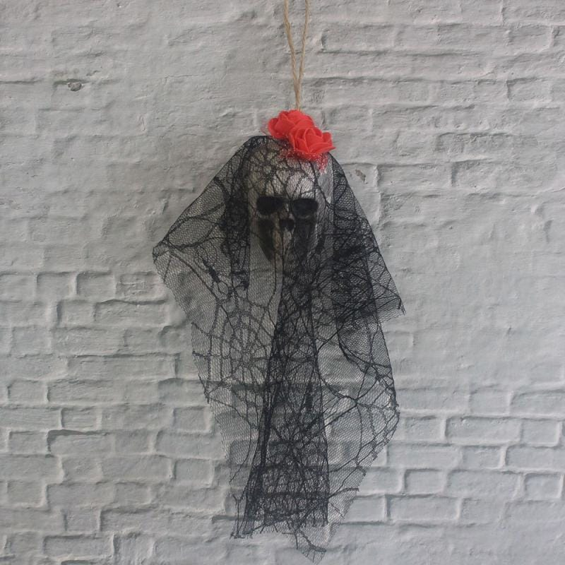 HOT!! Halloween Decoration Skull Hanging Ghost Haunted House