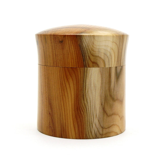 Lidded Box in Yew