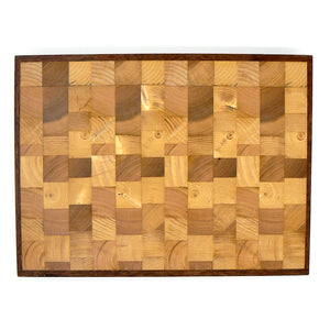 End-Grain Chopping Board in Pine