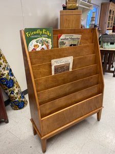 MCM Maple Magazine Rack