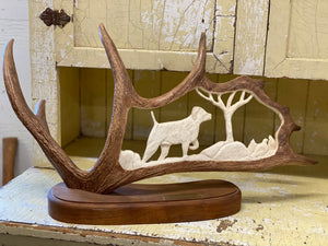 Antler Carving A