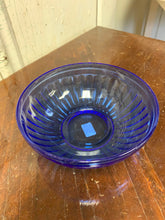 Load image into Gallery viewer, Blue Glass Bowl