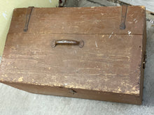 Load image into Gallery viewer, Rustic Wooden Trunk
