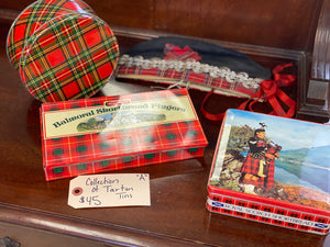 Collection A Red Tartan