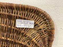 Load image into Gallery viewer, Hand Woven Wolf Willow Basket