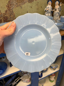Blue Delphite Lunch Plates