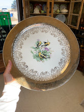 Load image into Gallery viewer, Georgian 22kt Gold China Serving Plate