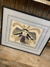 Load image into Gallery viewer, James Huston Inuit Art Print - Raven
