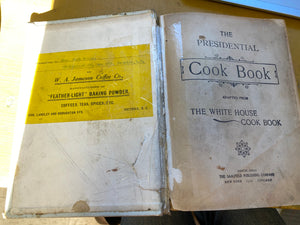 1910 Presidential Cook Book