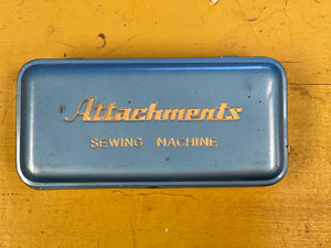 Sewing Machine Attachments Box