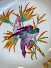 Load image into Gallery viewer, German Painted Bowl with Parrot/Bird