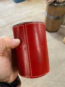 Leather RCMP Coin Bank