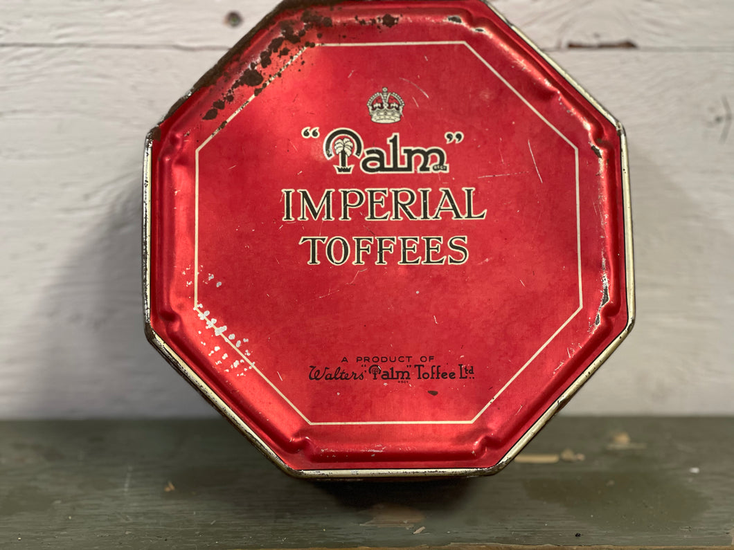 Palm Imperial Toffees Tin