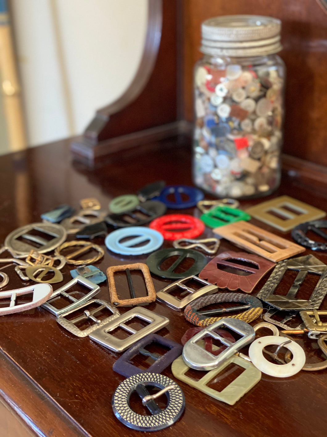 Buckle & Button Collection
