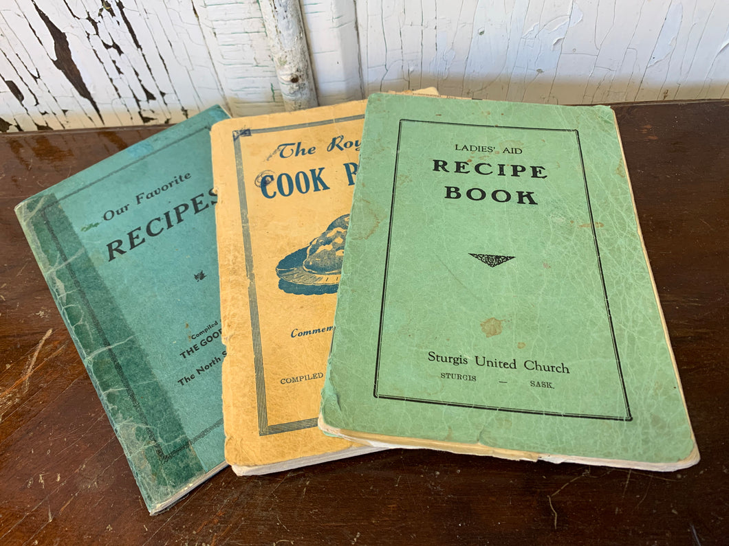 Collection of 3 Cook Books