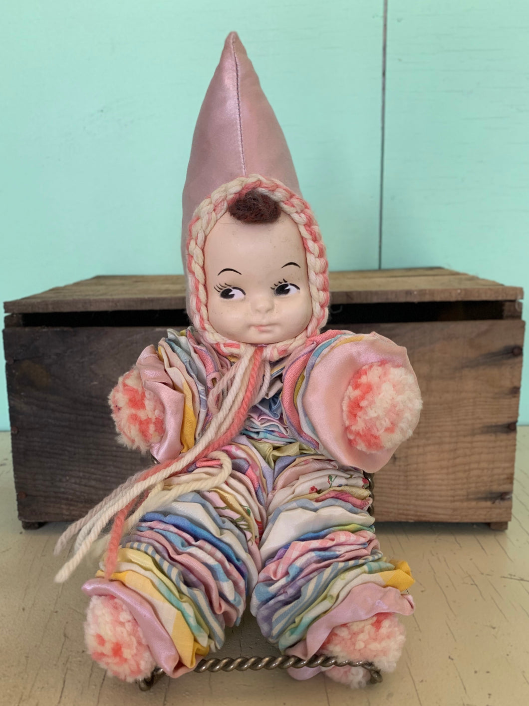 Fabric Clown Doll
