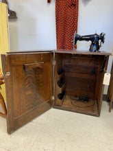 Load image into Gallery viewer, Kenmore Sewing Machine in Cabinet